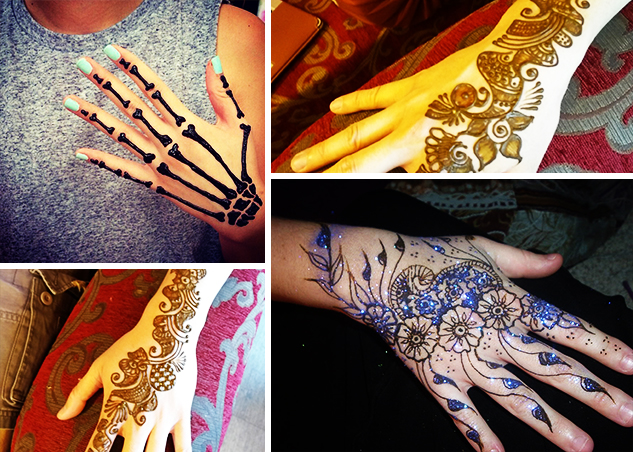 Mehndi Party Activities : Henna tattoo singapore party parlour