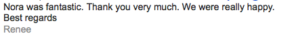 Review from client at kids stop singapore on facepainting
